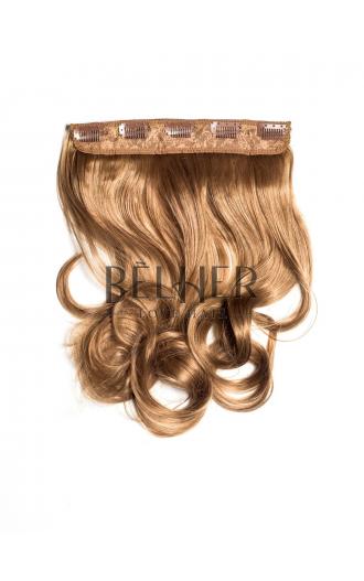 Tresa Clip-On Ondulat Blond Inchis Auriu