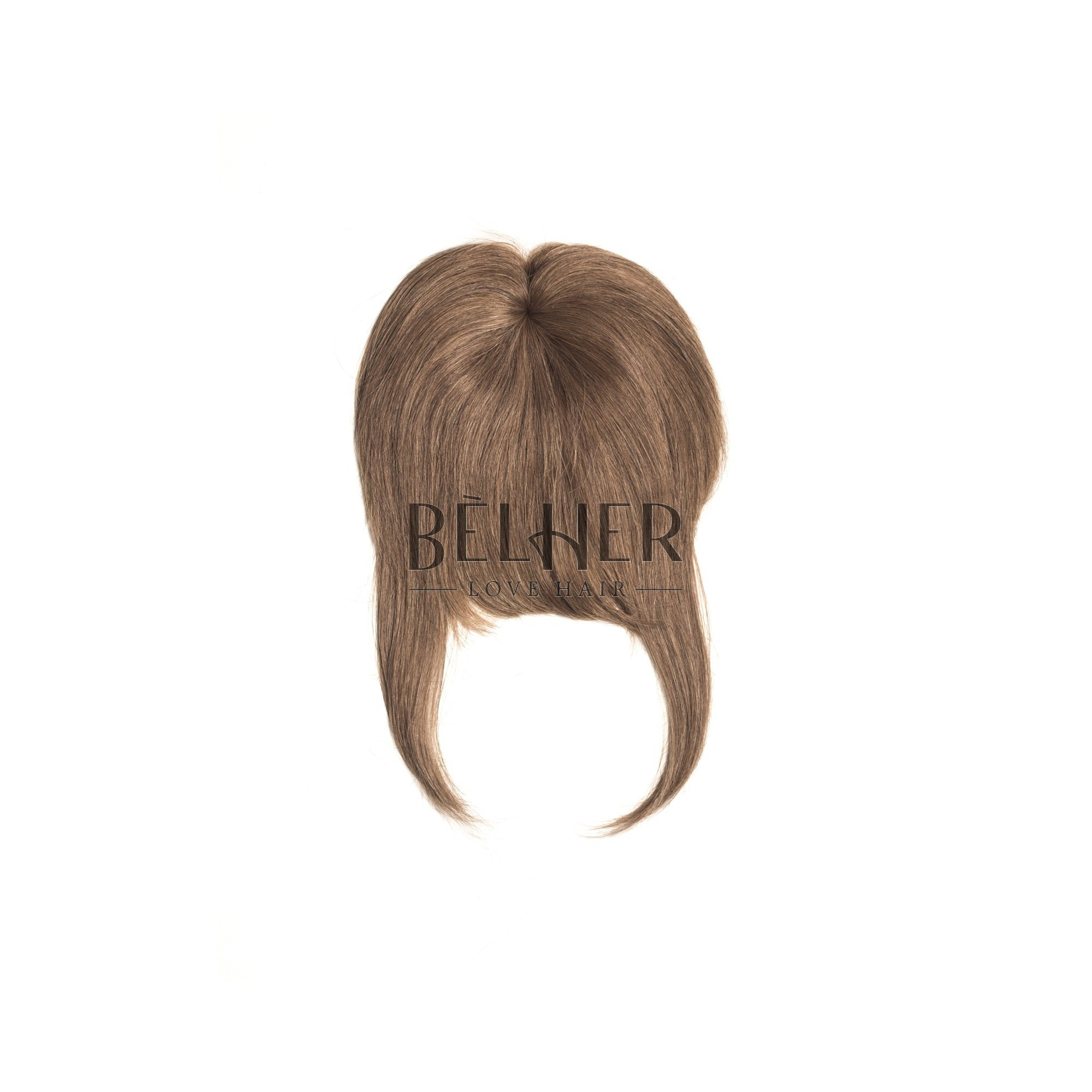 Breton Cu Calota Blond Inchis Cenusiu