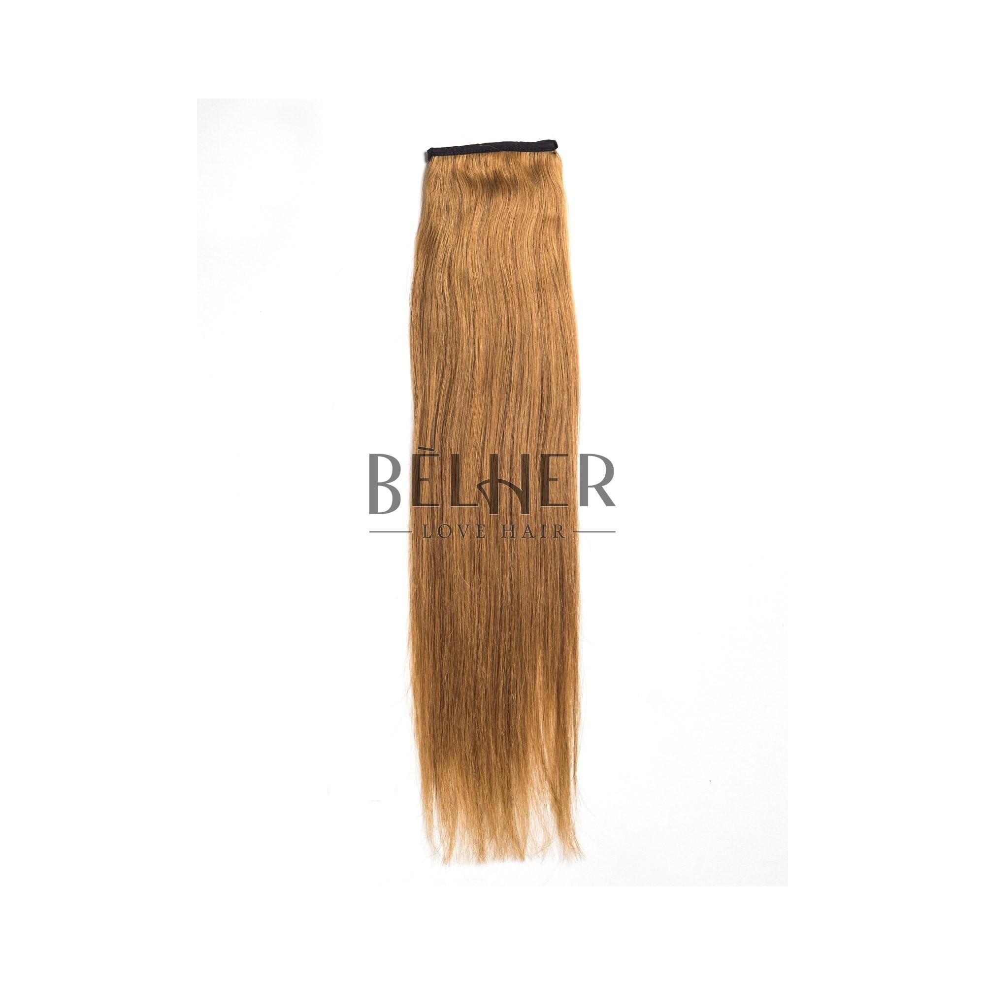 Coada Premium Blond Mediu