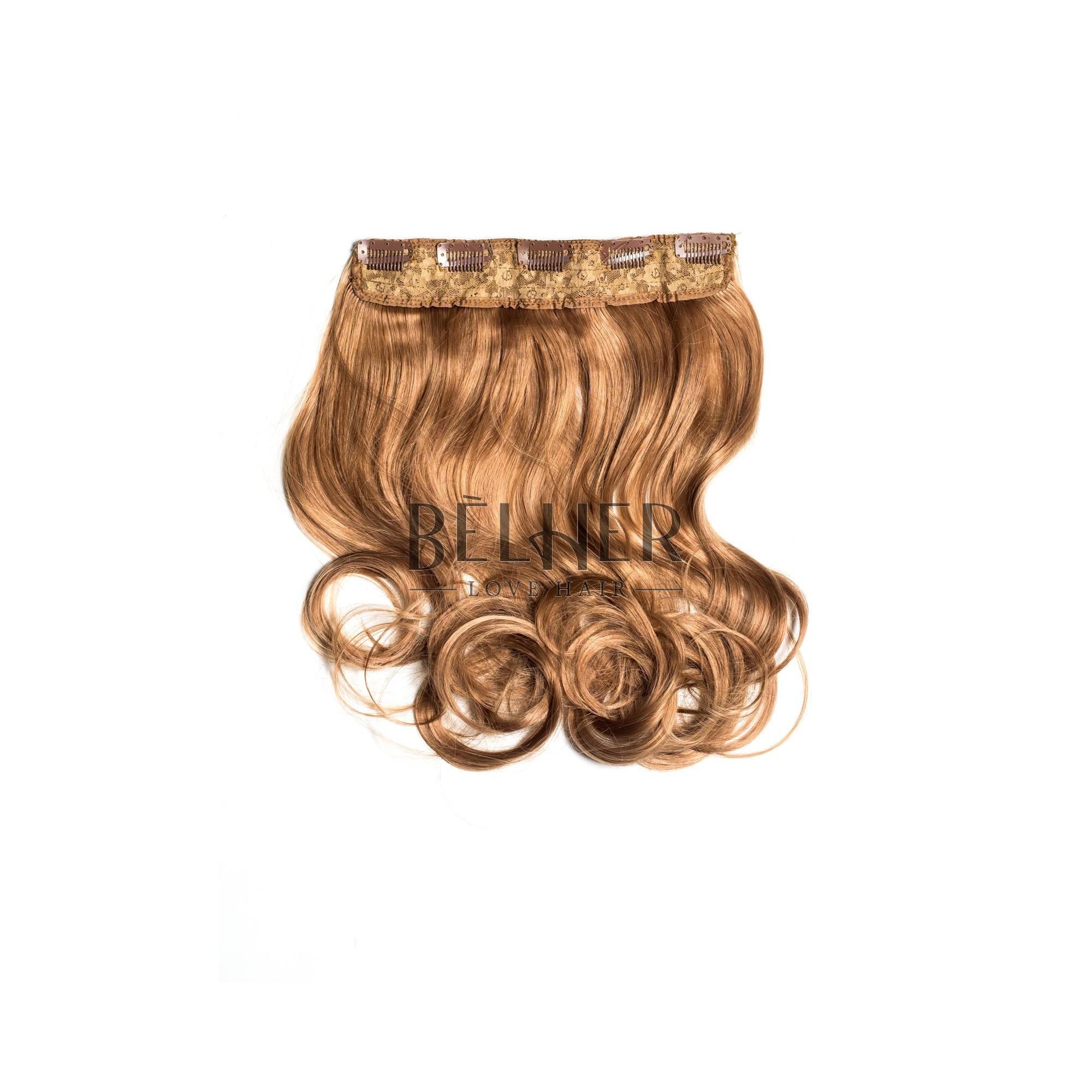 Tresa Clip-On Ondulat Blond Miere