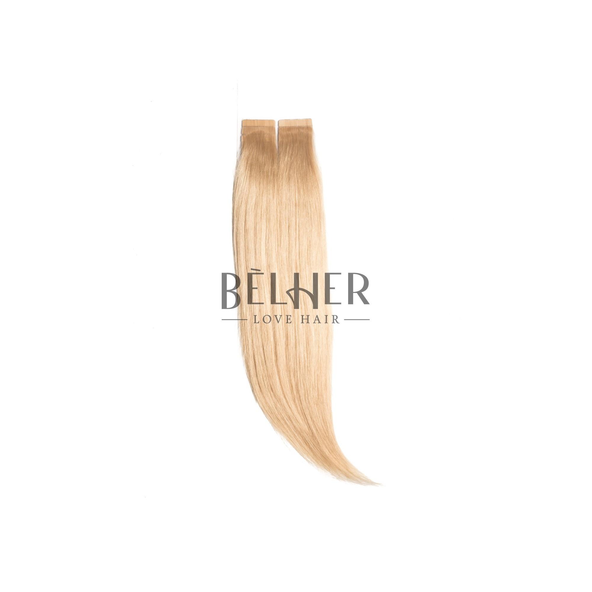 Extensii Tape-On Premium Blond Auriu