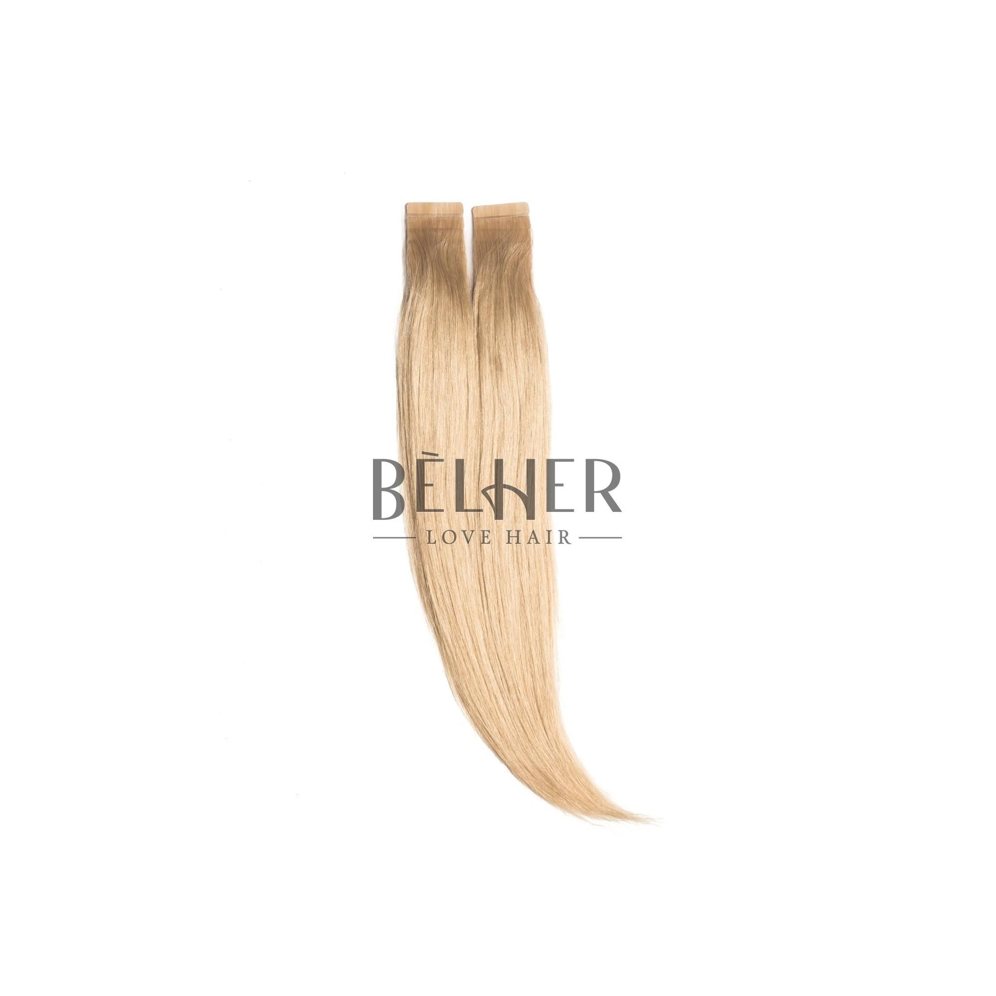 Extensii Tape-On Premium Blond Cenusiu