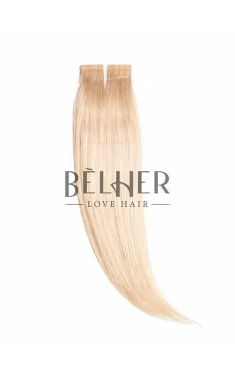 Extensii Tape-On Premium Blond Platinat