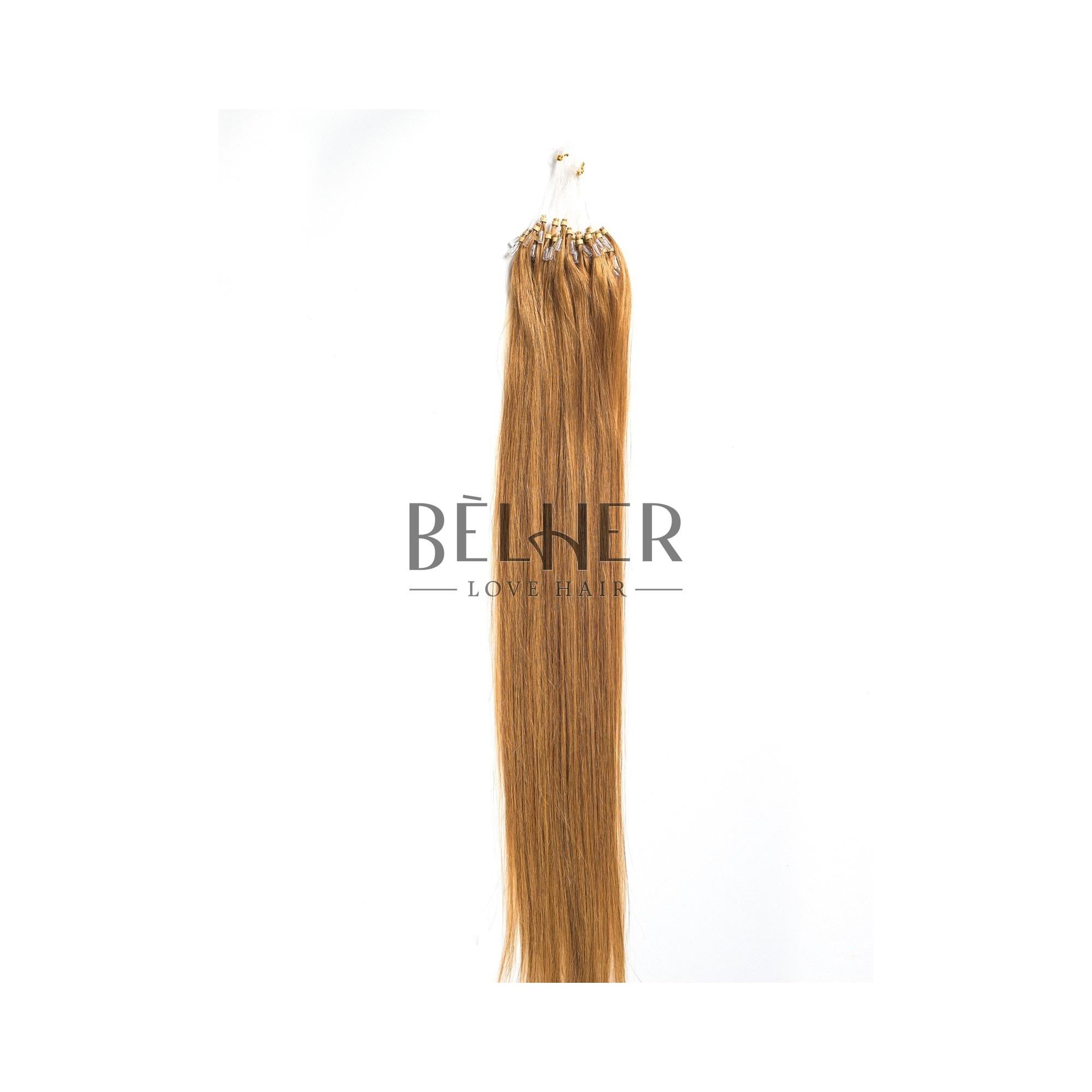 Extensii Microring Premium Blond Miere