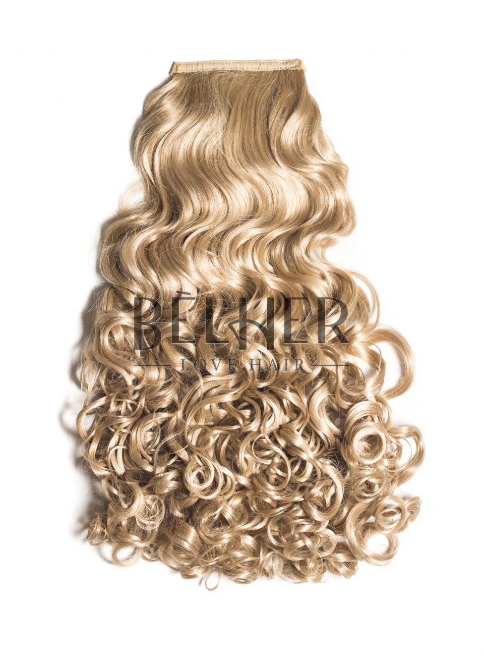 Blond Luminos Coada Par Cret