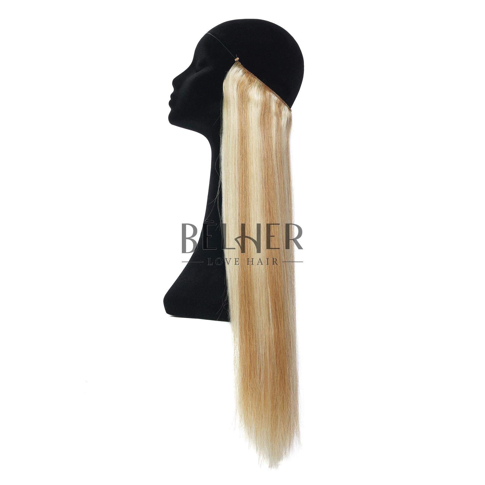 Extensii Flip-In Premium Mix Blond Auriu
