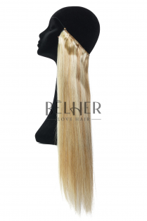 Mix Blond Cenusiu Flip-In Premium