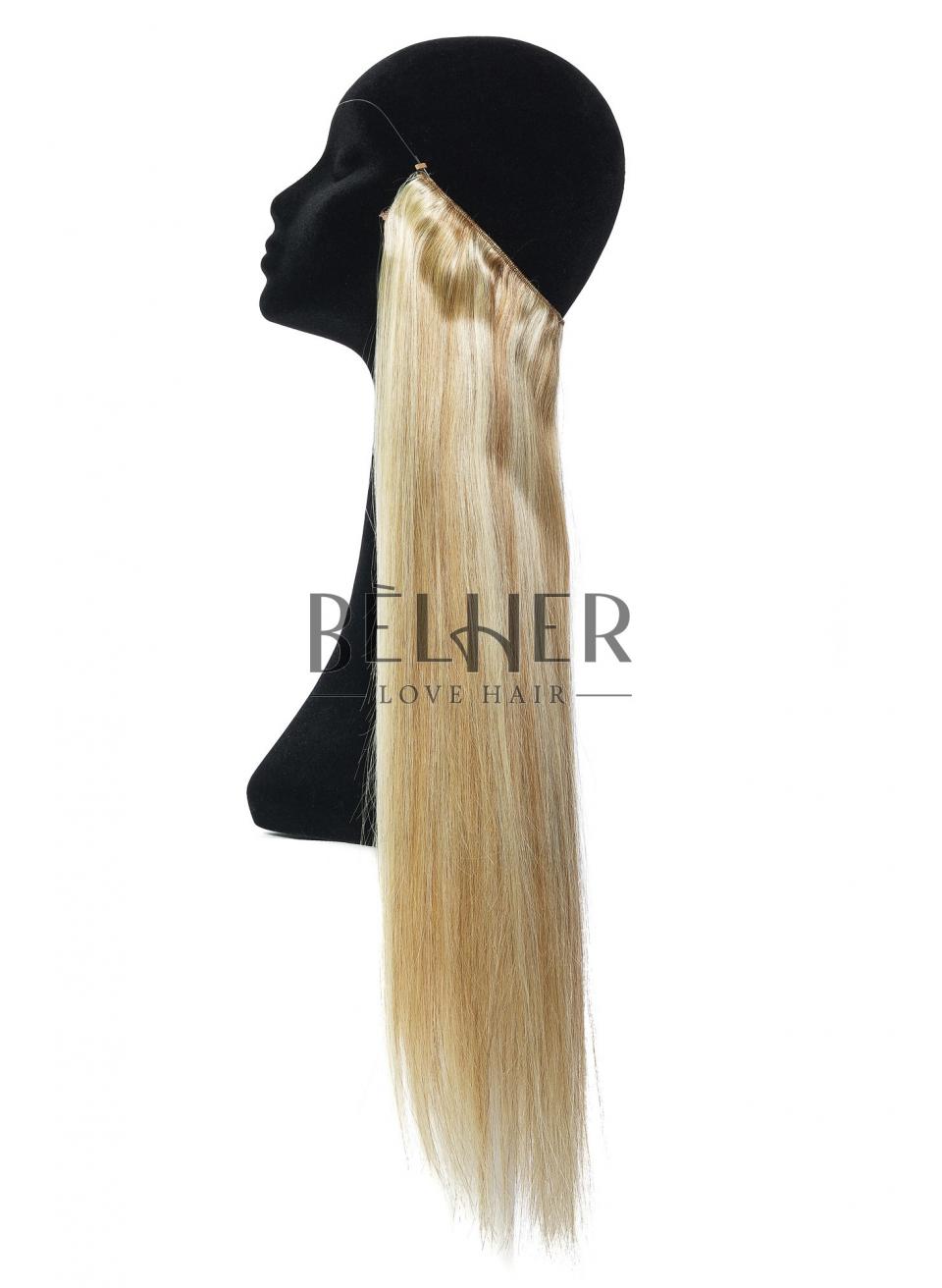 Mix Blond Cenusiu Flip-In Premium