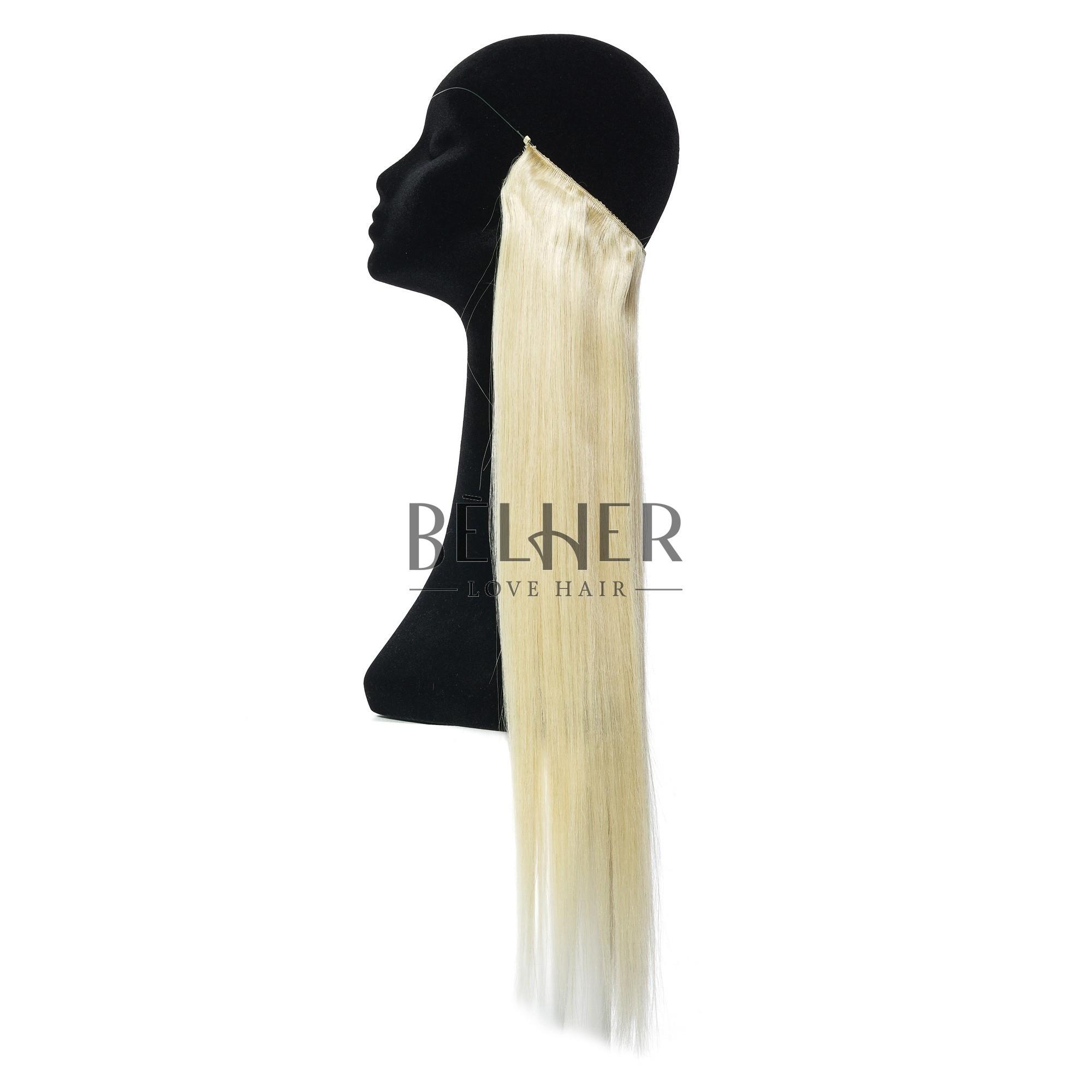 Extensii Flip-In Premium Blond Deschis