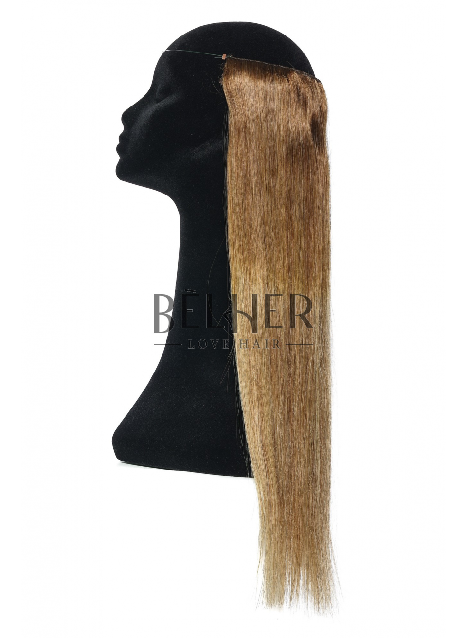 Ombre Saten Natural/Blond Flip-In Premium