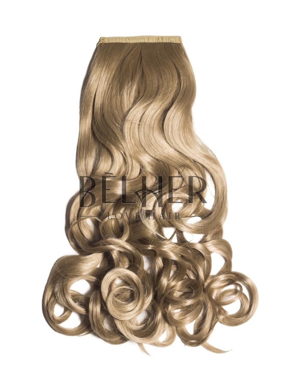 Blond Cenusiu Coada Par Ondulat