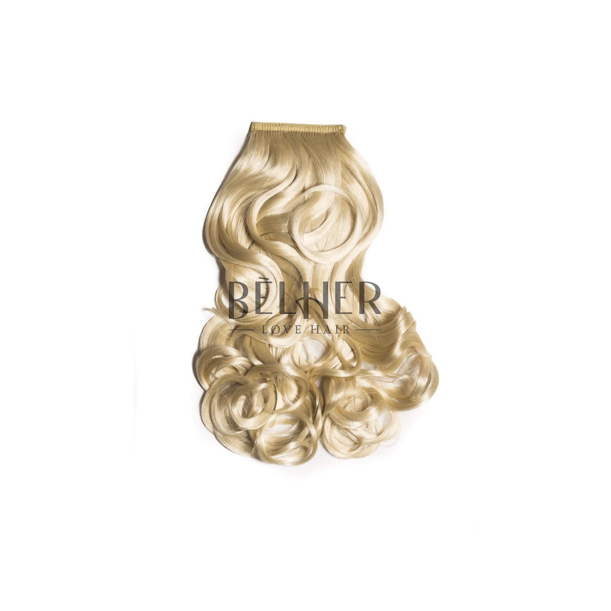 Coada Par Ondulat Blond Deschis