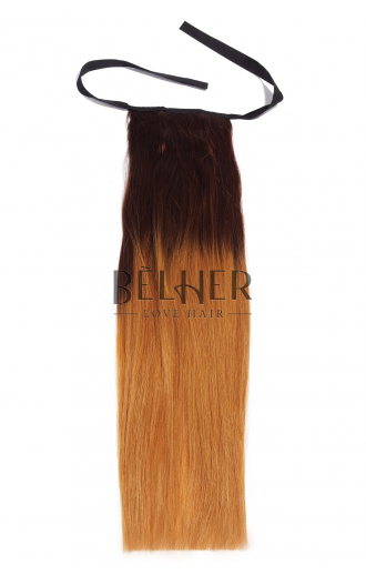 Coada Deluxe Ombre Ciocolatiu/Blond Miere
