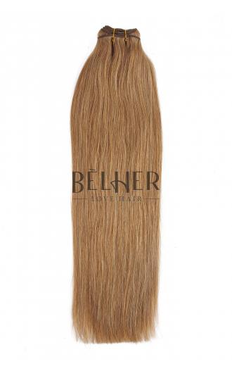 Extensii Cusute Deluxe Blond Inchis Cenusiu