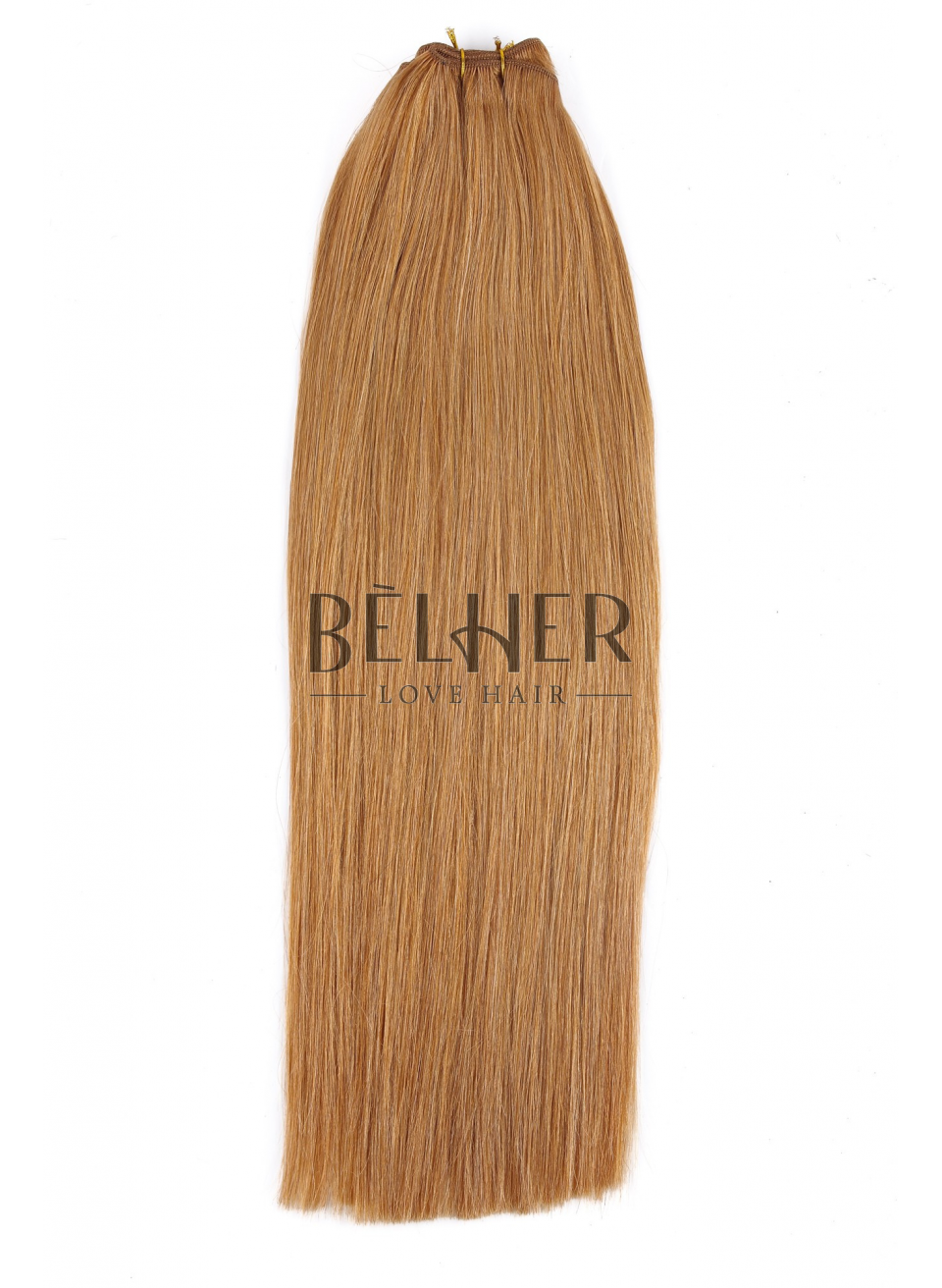 Blond Miere Extensii Cusute Deluxe