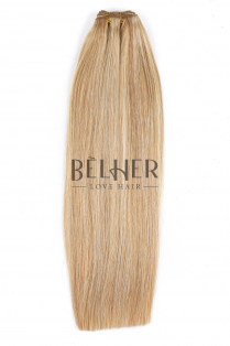 Mix Blond Cenusiu Extensii Cusute Deluxe