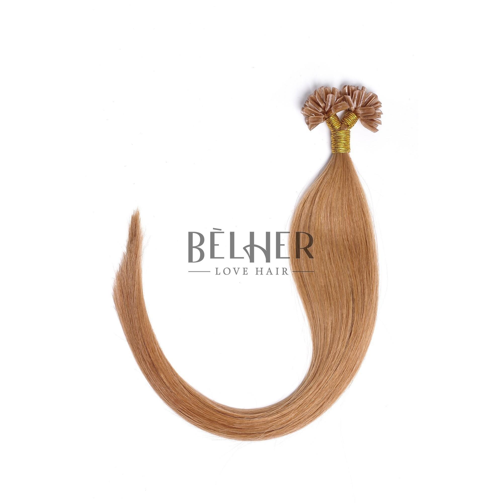 Extensii Cheratina Premium Blond Miere