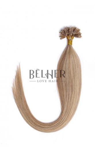 Extensii Cheratina Premium Mix Blond Cenusiu