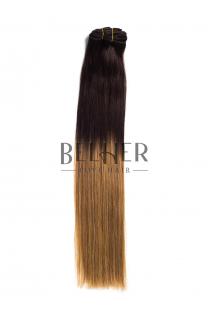 Ombre Saten/Blond Aluna Clip-On Premium