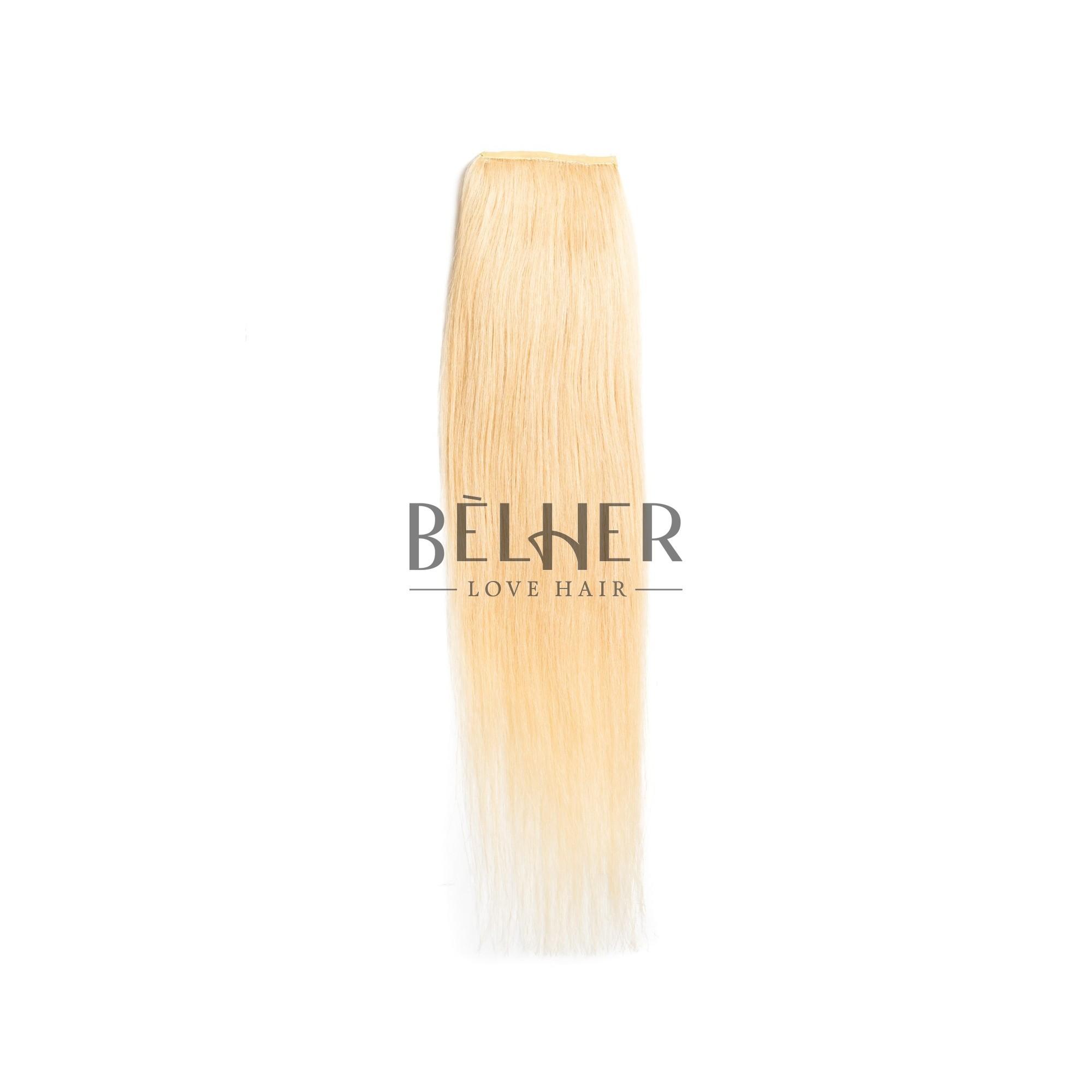 Coada Premium Blond Platinat
