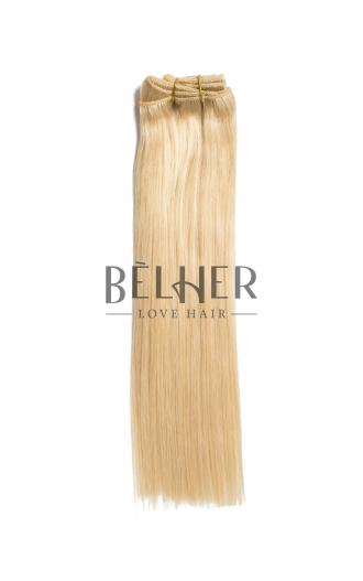 Extensii Clip-On Premium Blond Deschis Auriu