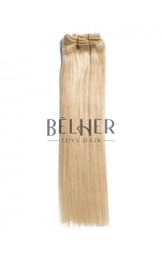 Extensii Clip-On Premium Blond Deschis Cenusiu