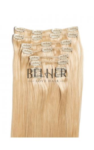 Blond Deschis Cenusiu Clip-On Premium
