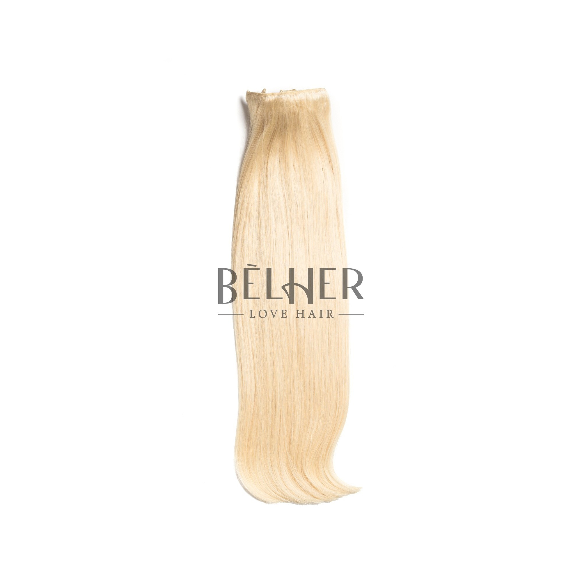 Extensii Clip-On Deluxe Blond Platinat