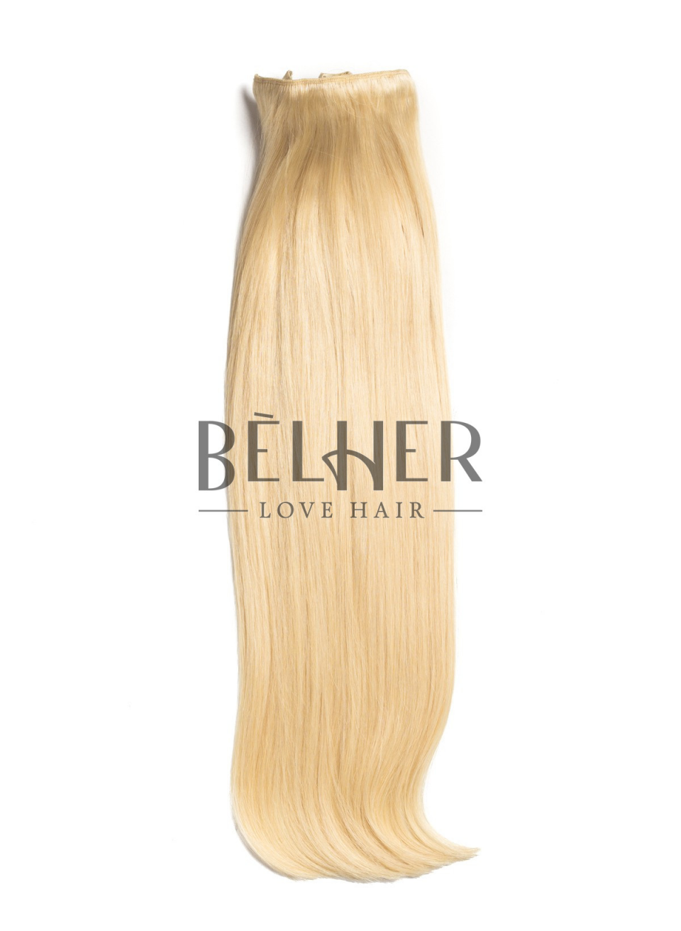 Blond Deschis Clip-On Deluxe