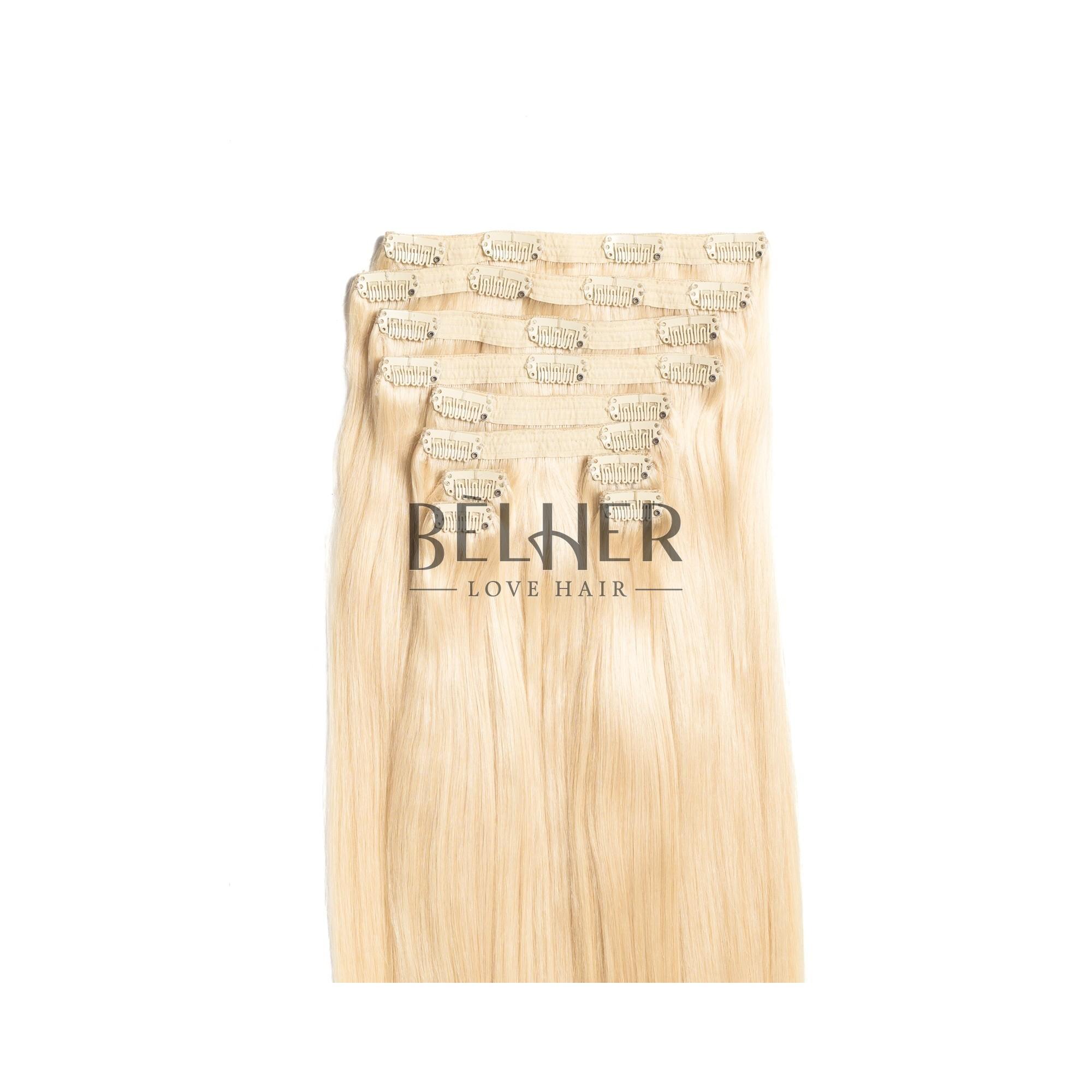 Extensii Clip-On VIP Blond Platinat