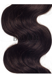 Saten Inchis Natural Clip-On