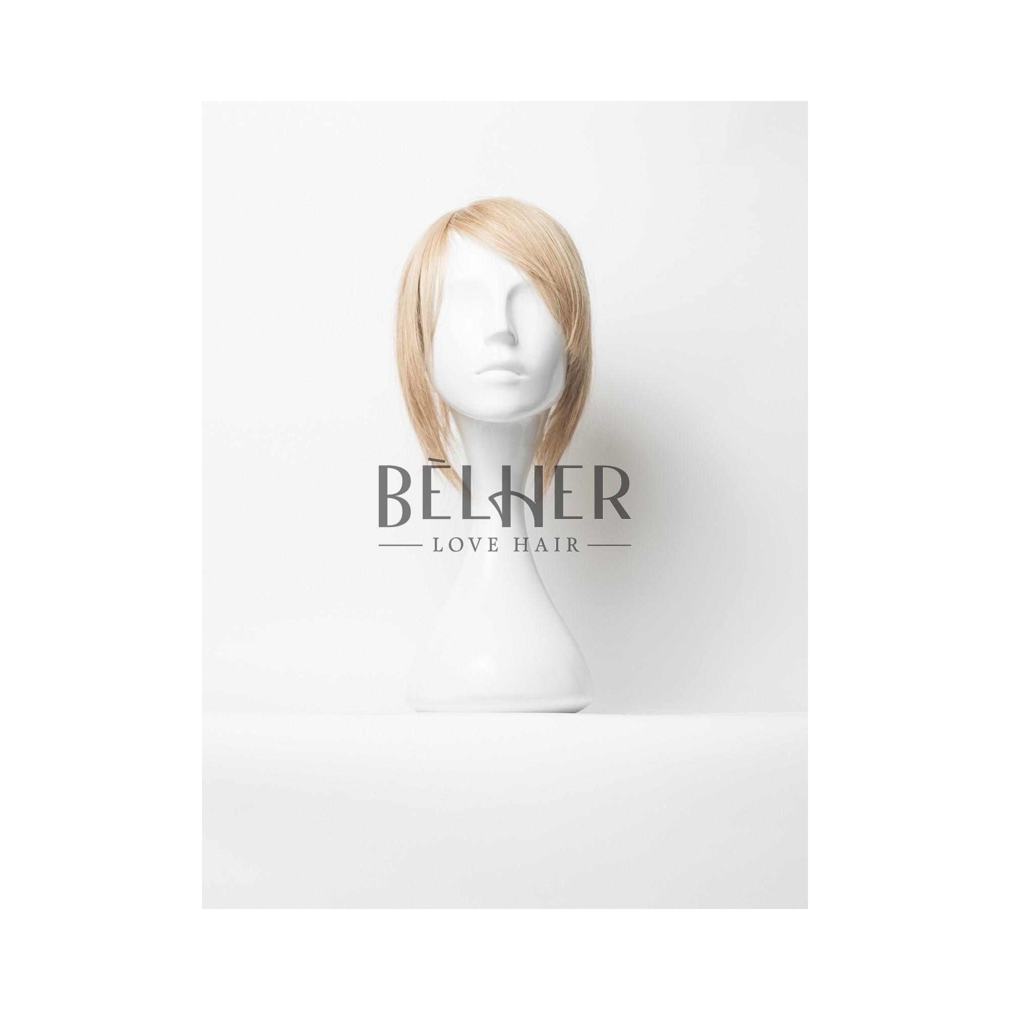 Peruca Partiala Naturala Clip-On Blond Aluna