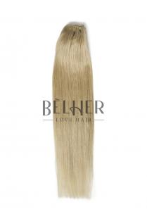 Extensii Blond Argintiu Clip-On PREMIUM