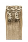 Extensii Blond Gri Clip-On Premium