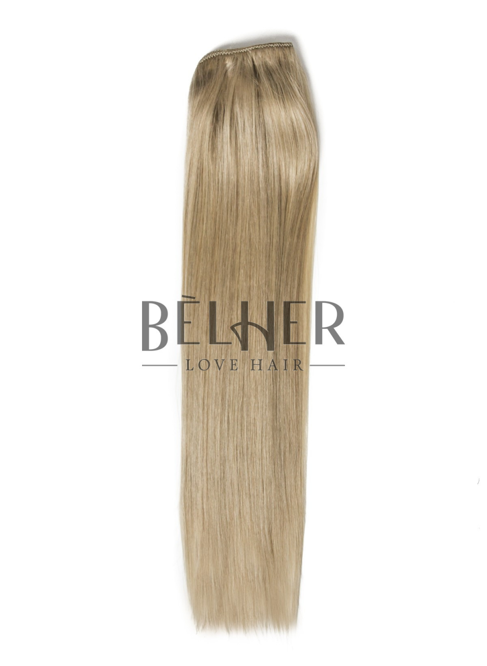 Extensii Blond Gri Clip-On Premium