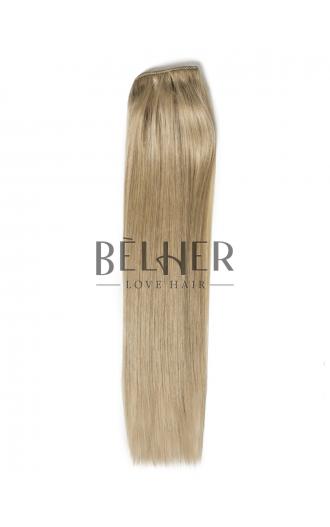 Extensii Clip-On PREMIUM Blond Gri
