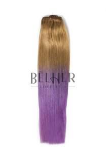 Extensii Blond Aluna/Purple Clip-On Premium