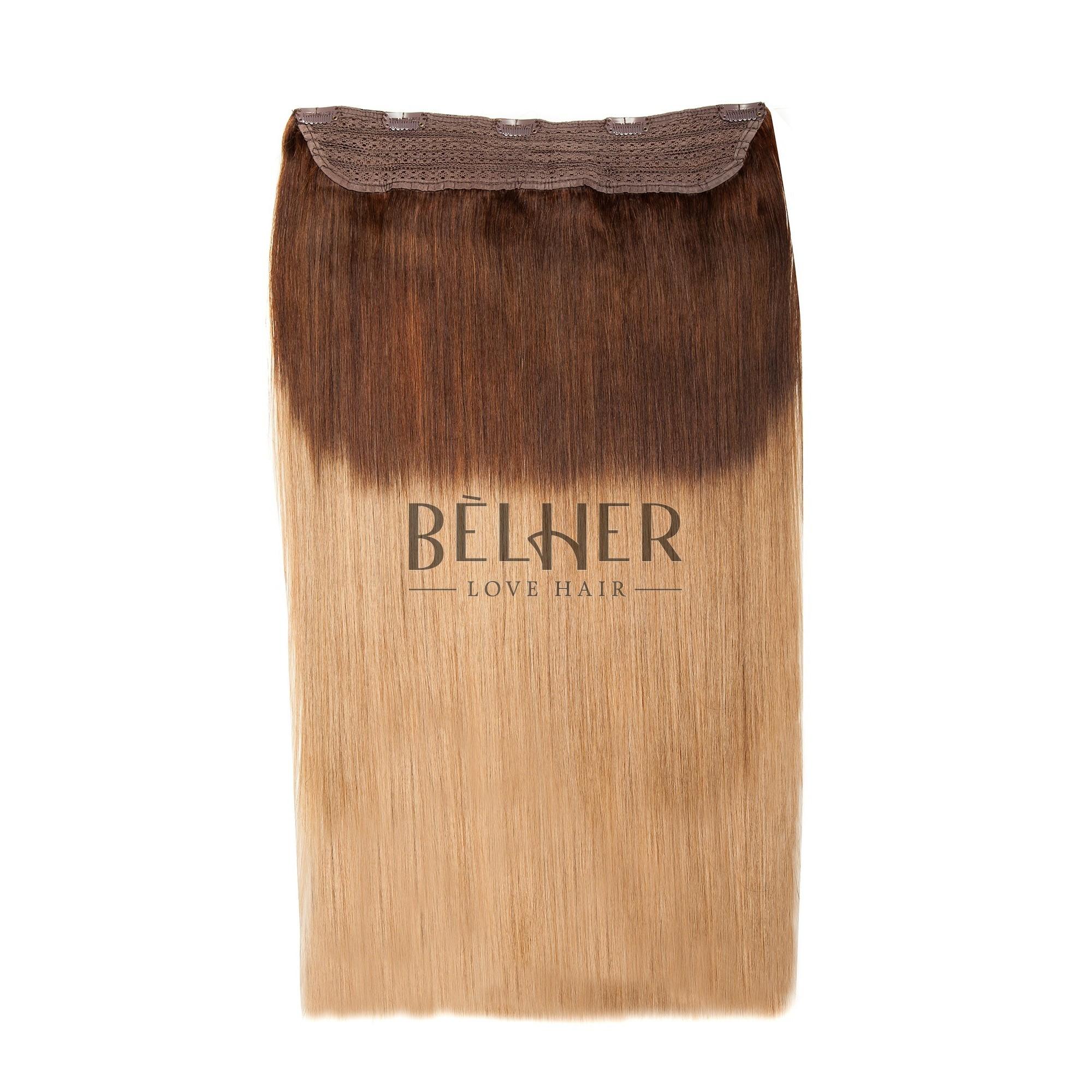 Tresa Clip-On VIP Ombre Ciocolatiu/Blond Aluna