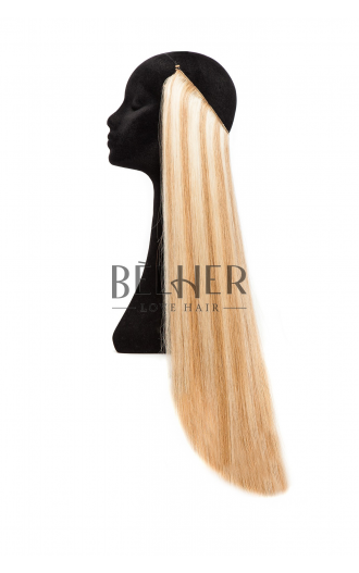 Extensii Flip-in Deluxe Mix Blond Auriu