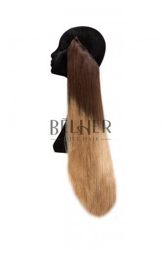 Extensii Flip-in Deluxe Ombre Saten/Blond Aluna