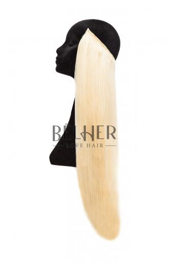 Extensii Flip-in Deluxe Blond Cenusiu