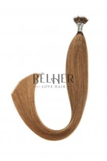 Extensii Nano-Ring Blond Inchis Cenusiu