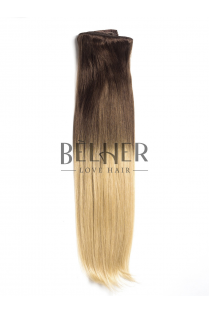 Ombre Saten Natural/Blond Clip-On Deluxe