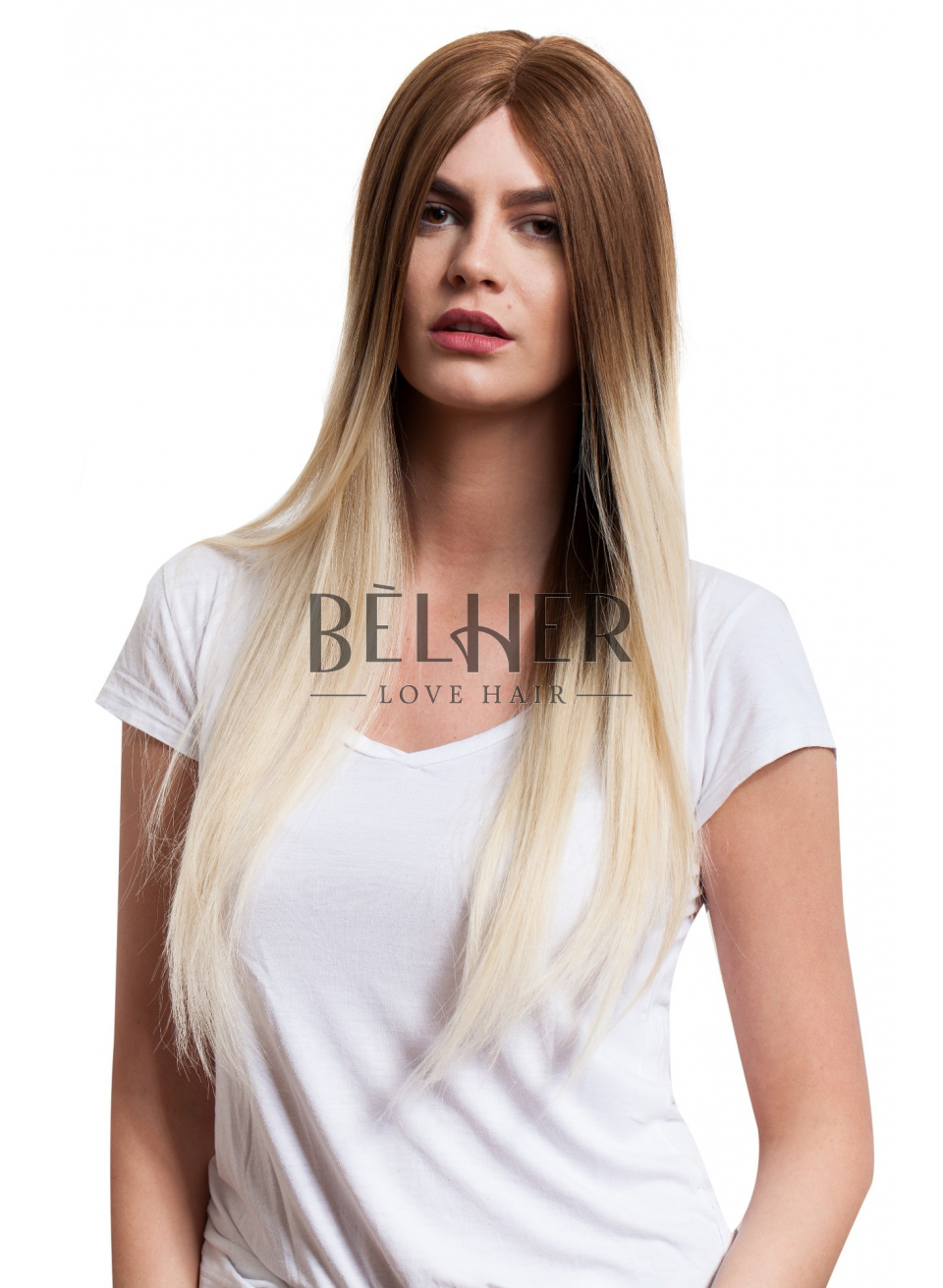 Peruca Naturala Ombre Saten Natural-Blond