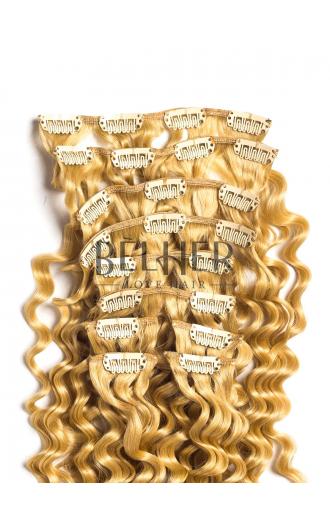 Blond Deschis Auriu Clip-On Premium