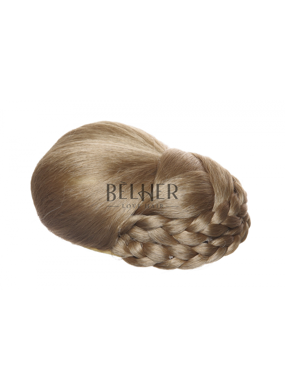 Blond Cenusiu Deschis Coc Sofisticat