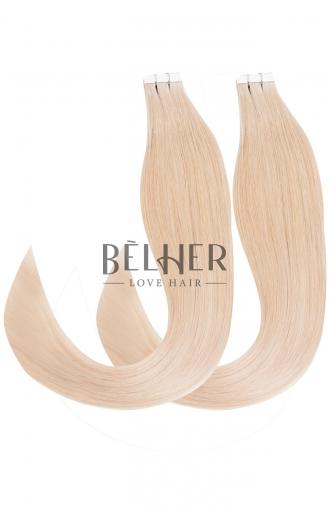 Extensii Tape-On VIP Blond Argintiu
