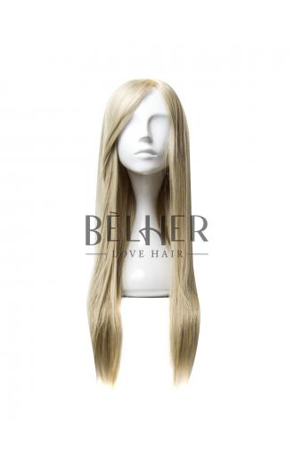 Peruca Naturala TABIA Blond Argintiu