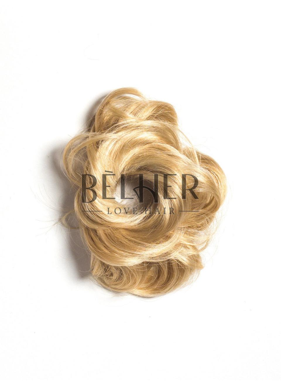 Mix Blond Auriu Elastic Din Par
