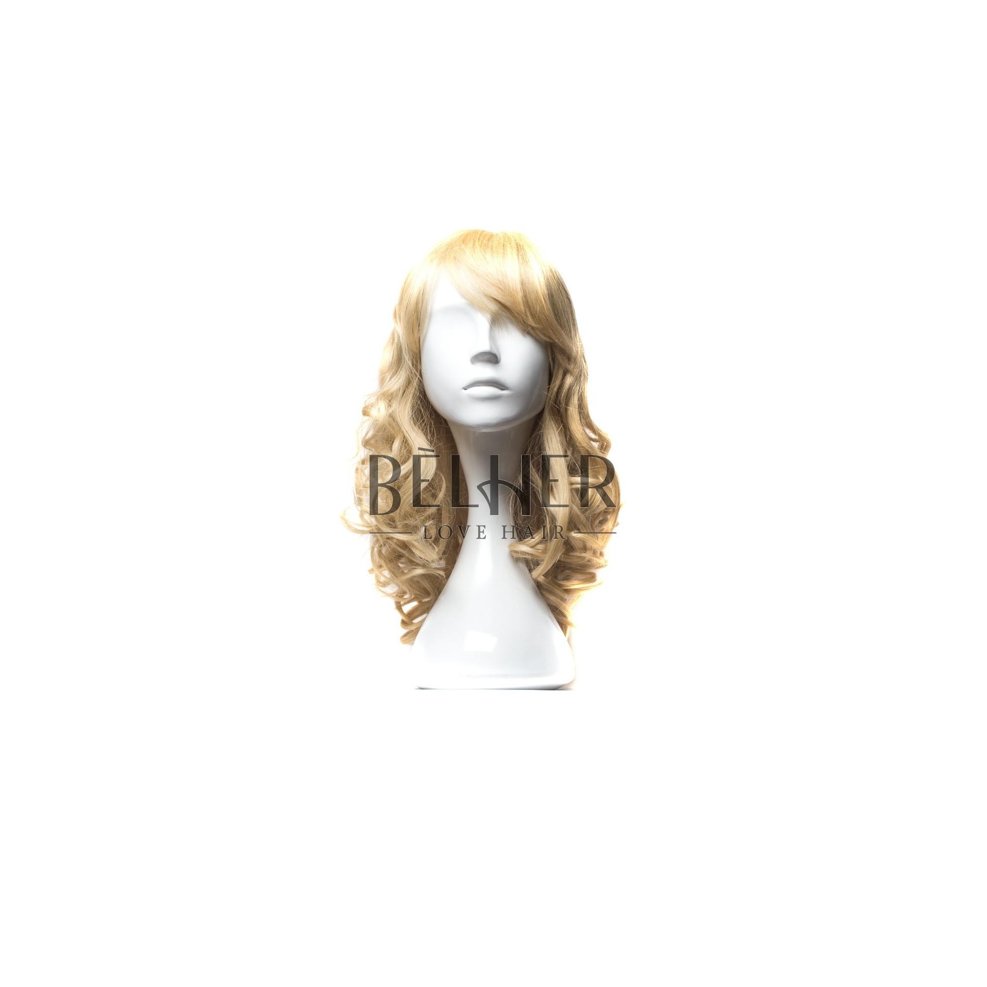 Peruca Naturala LEILA Mix Blond Cenusiu